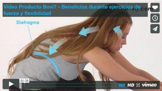 Vídeo Producto Bovi7 - Beneficios durante ejercicios de fuerza y flexibilidad