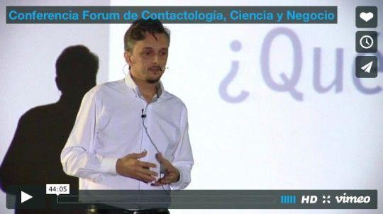 Conferencia Forum de Contactología, Ciencia y Negocio