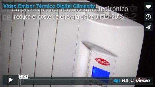 Vídeo Emisor Térmico Digital Climacity
