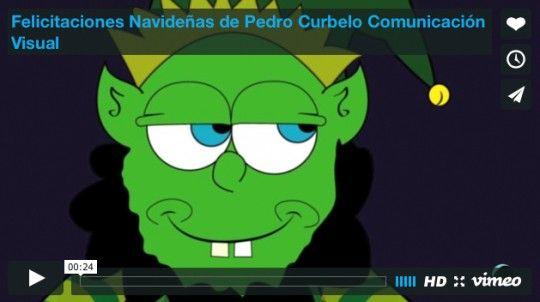 Felicitaciones Navideñas de Pedro Curbelo Comunicación Visual