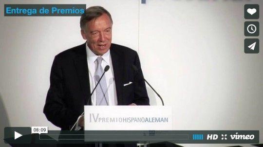 IV Premio Hispano-Alemán de la Cámara de Comercio Alemana