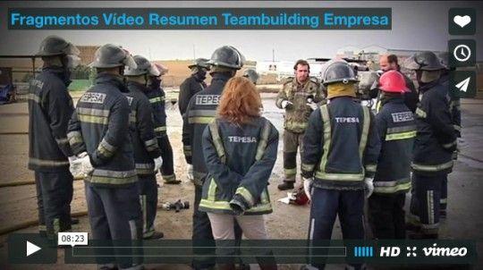Fragmentos Vídeo Resumen Teambuilding Empresa