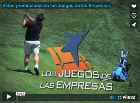 Vídeo promocional de los Juegos de las Empresas