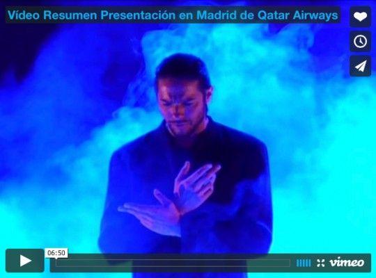 Vídeo Resumen Presentación en Madrid de Qatar Airways
