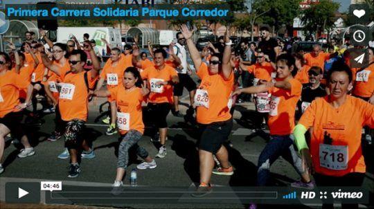 Primera Carrera Solidaria Parque Corredor