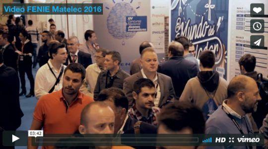 Vídeo FENIE MATELEC 2016