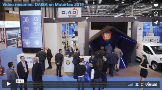 Vídeo resumen: DAISA en Motortec 2019