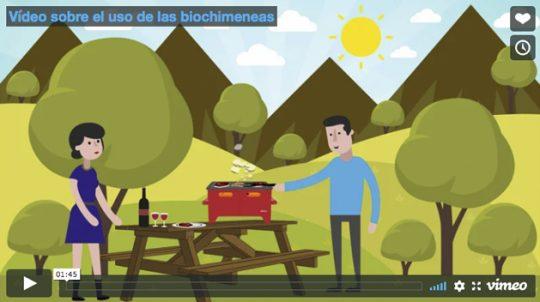 Vídeo sobre el uso de las biochimeneas
