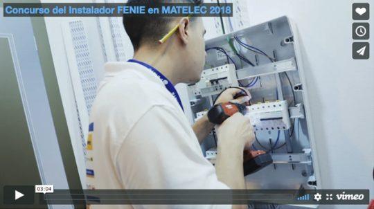 Concurso del Instalador FENIE en MATELEC 2018