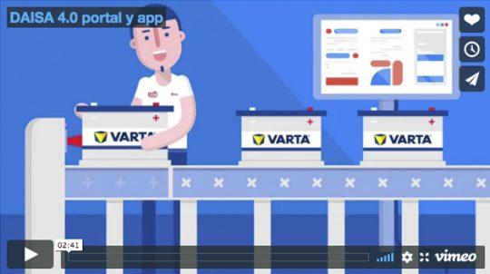 DAISA 4.0 portal y app