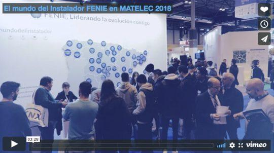 El mundo del Instalador FENIE en MATELEC 2018