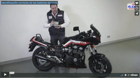 Identificación correcta de las baterias de moto