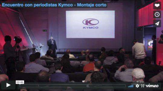Encuentro con periodistas Kymco - Montaje corto