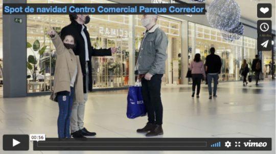 Spot de navidad Centro Comercial Parque Corredor