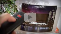 Vídeo Producto Chimeneas Pictoflame