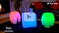 Vídeo Producto Cubos Led Purline