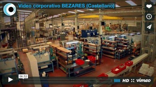 Vídeo corporativo BEZARES (Castellano)
