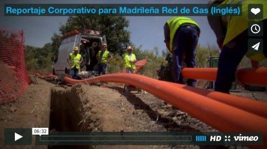 Reportaje Corporativo para Madrileña Red de Gas (Inglés)