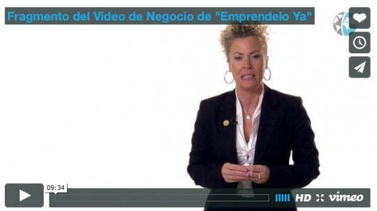 """Fragmento del Video de Negocio de """"Emprendelo Ya"""""""