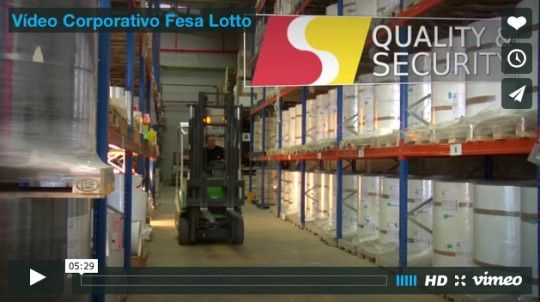 Vídeo Corporativo Fesa Lotto