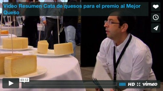 Vídeo Resumen Cata de quesos Premio al Mejor Queso
