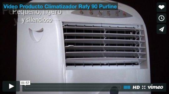 Vídeo Producto Climatizador Rafy 90 Purline