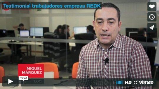 Testimonial trabajadores empresa REDK