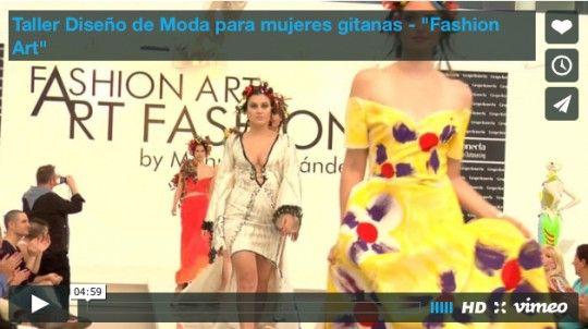 Taller Diseño de Moda para mujeres gitanas -