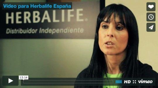 Vídeo realizado para Herbalife España