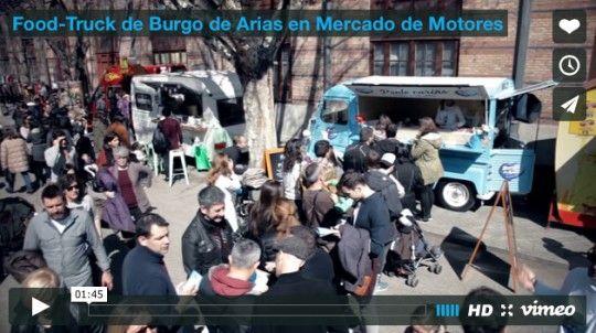 Food-Truck de Burgo de Arias en Mercado de Motores