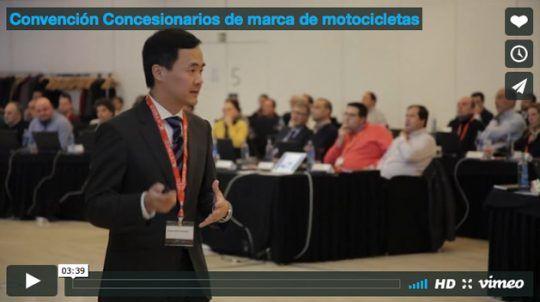 Convención Concesionarios de marca de motocicletas