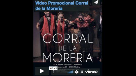 Video Promocional Corral de la Morería