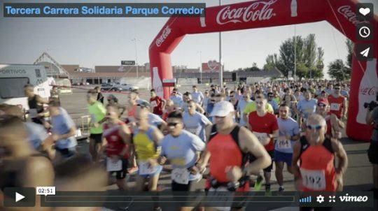 Tercera Carrera Solidaria Parque Corredor