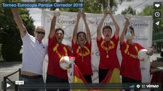 Torneo Eurocopa Parque Corredor 2016