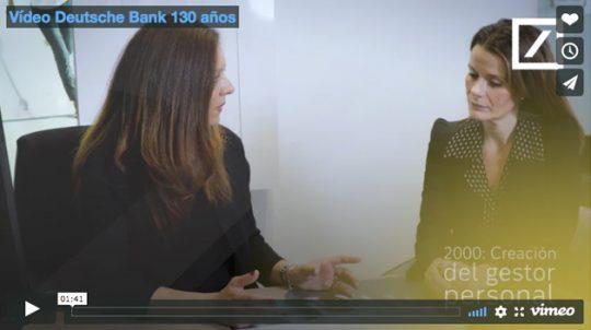 Vídeo Deutsche Bank 130 años