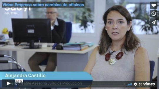 Vídeo Empresa sobre cambios de oficinas