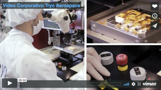 Vídeo Corporativo Tryo Aerospace