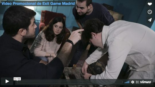 Video Promocional de Exit Game Madrid